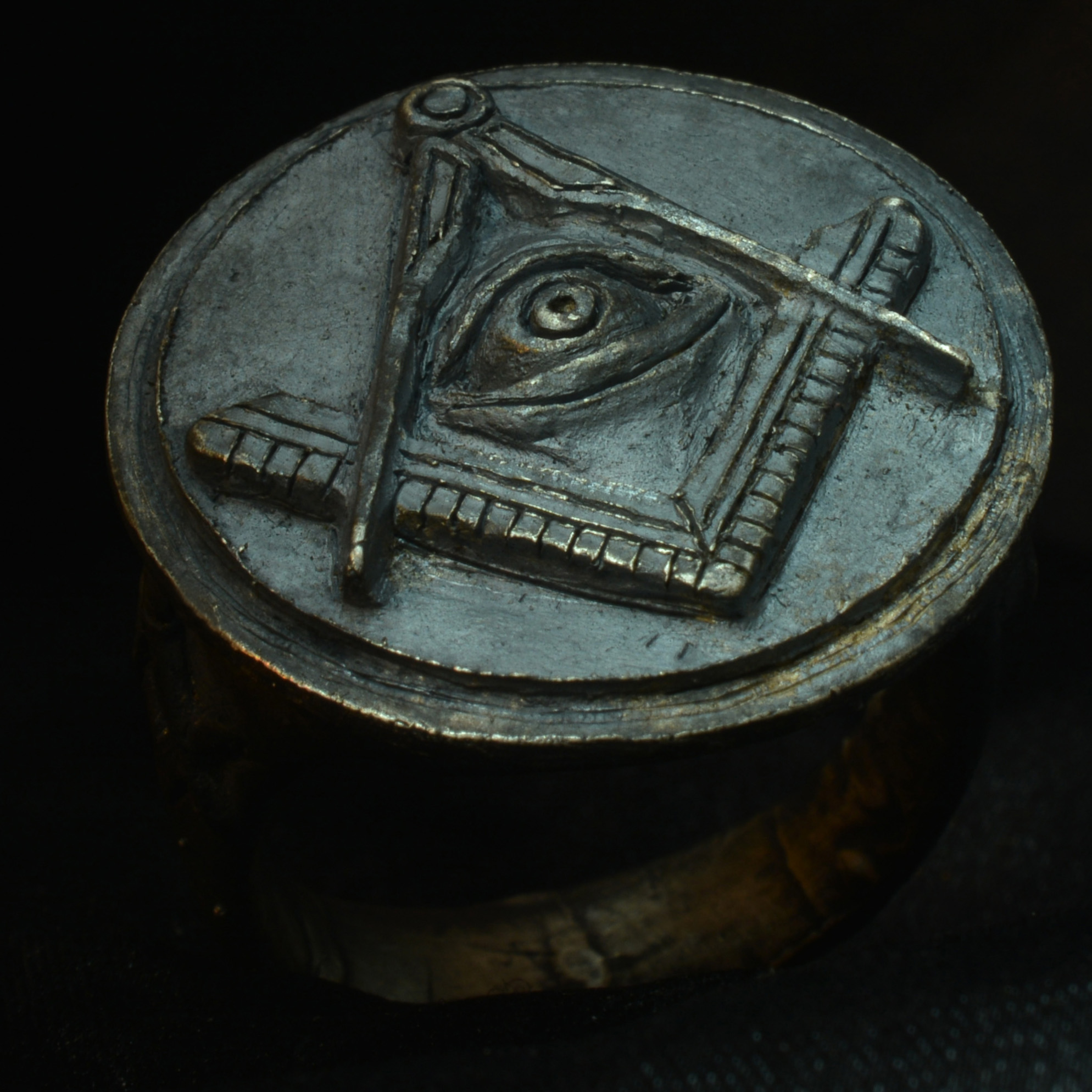 masonic templar ring 925 sterling silver