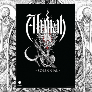 Alunah Hand Numbered, Signed Limited Edition A3 Poster | Solennial Torso Artwork