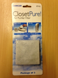 AMCOR CLOSET PURE FILTER