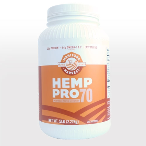 Certified Organic HEMP PRO 70 - 5Lb PlottPalmTrees.com