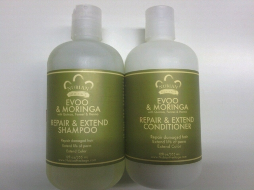 Ⓥ Moringa  Shampoo, Conditioner,