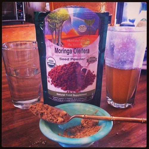 Premium Quality Moringa Seed Powder & Caps  (Pterygospermin) BUY