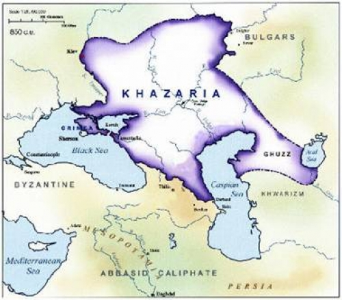 Long Live The Khazaria Empire - Not!  Stupid Strikes Again  US-Israeli-Muslim Genocide  Of Russian Orthodox Christians