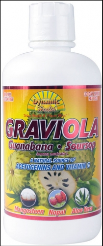 Soursop-Graviola  Extract Juice Blend, Dynamic Health, 32 oz