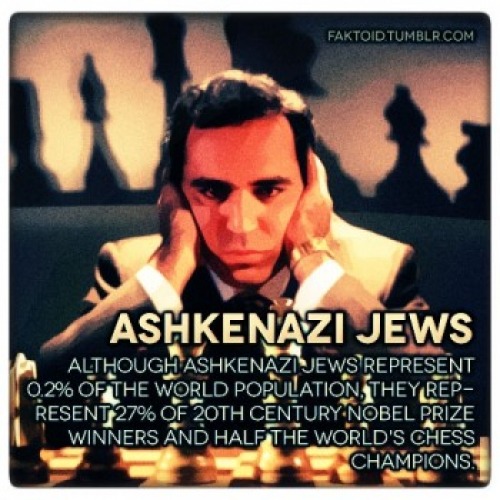 Why is the IQ of Ashkenazi Jews so High? - twenty possible explanations  ~E.G. PLOTTPALMTREES.COM